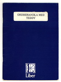 Ordbehandla med Teddy. Manual. Liber 1984